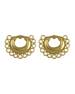 Tairona Nose Ring with Circles Earrings (S)
