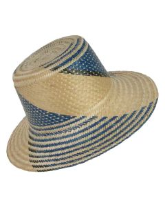 Sun Straw Wayuu Hat by ACROSS THE PUDDLE