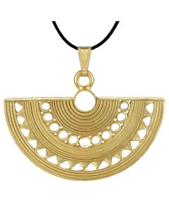 Sinu Fan Style Ornament pendant by ACROSS THE PUDDLE