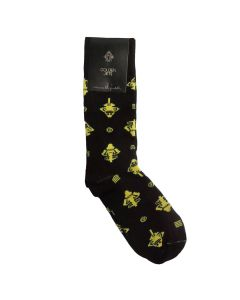 Golden Jet Casual Socks by ACROSS THE PUDDLE