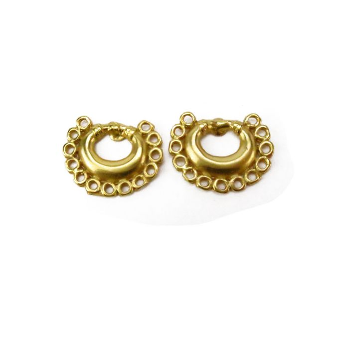 Tairona Nose Ring With Circles Xs Earrings Across The Puddle